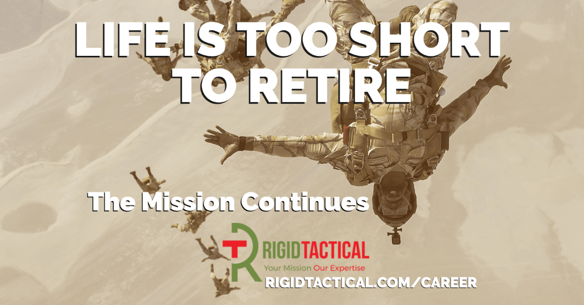 Life is Too Short to Retire